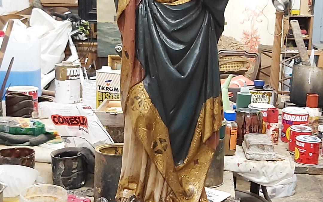 Verge Immaculada policromada