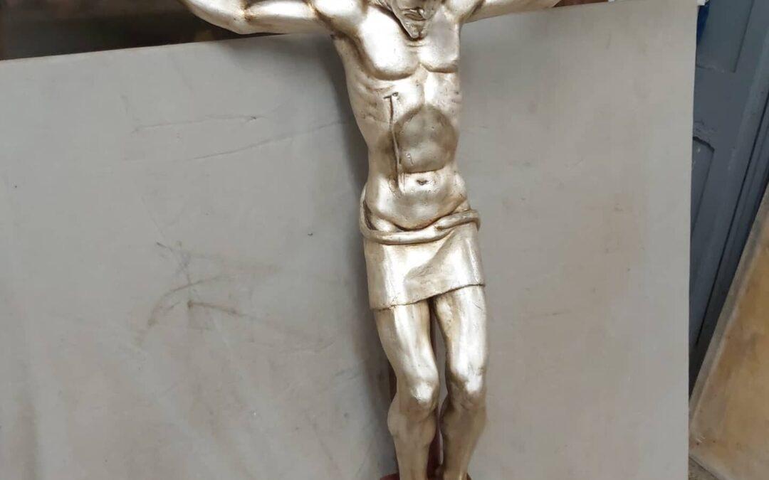 Sant Crist platejat